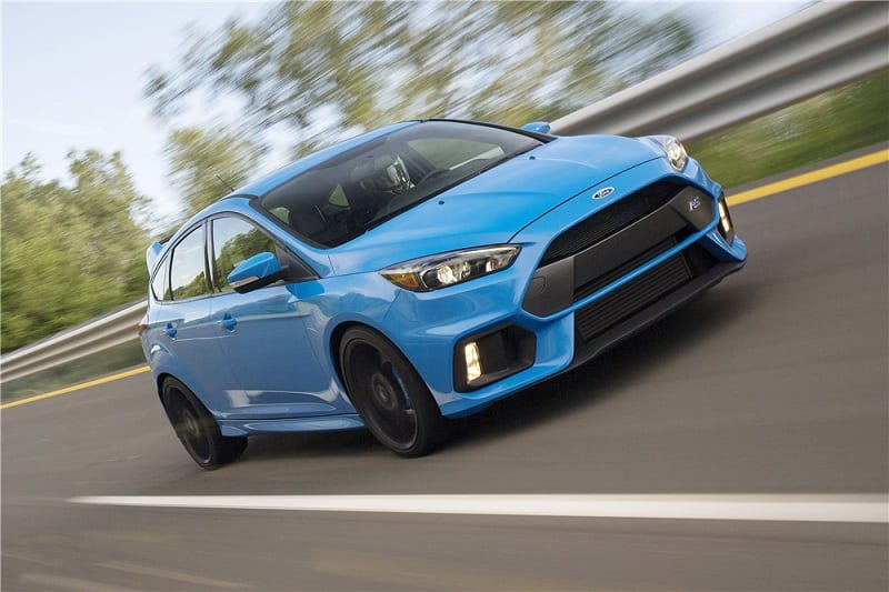 Ford to Auction Custom 2016 Focus RS at BarrettJackson Proceeds
