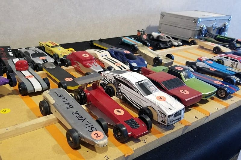 So It Was That The First Annual Ford Performance Pinewood Derby Held In Main Hallway Leading To Offices Along Rouge River