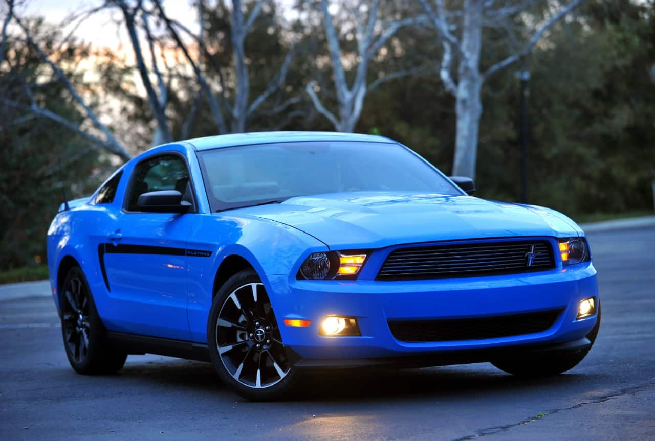 2011 ford mustang mca edition
